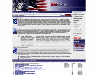 bidcontract.com screenshot