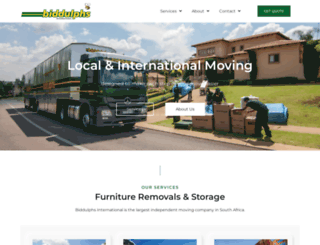 biddulphs.co.za screenshot