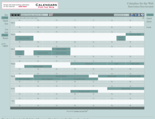 bidflow.calendarhost.com screenshot