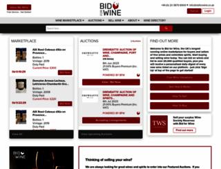 bidforwine.sg screenshot