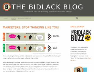 bidlackblog.wordpress.com screenshot