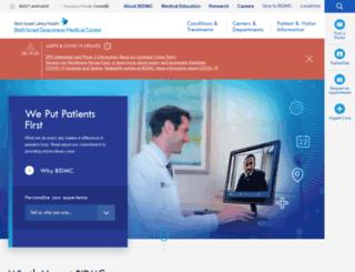 bidmc.caregroup.org screenshot