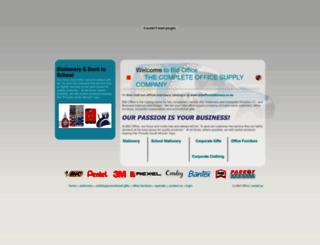 bidoffice.co.za screenshot
