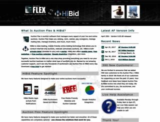 bidopia.auctionflex.com screenshot