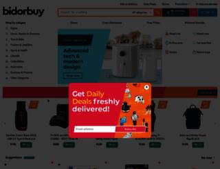 bidorbuy.com screenshot