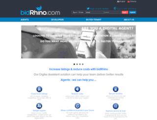 bidrhino.com.au screenshot