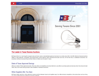 bidtexasonline.com screenshot