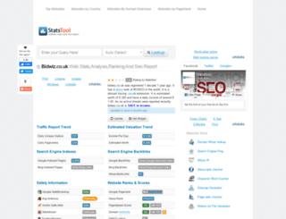 bidwiz.co.uk.statstool.com screenshot