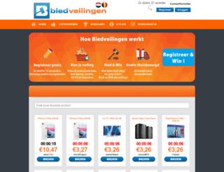 biedveilingen.nl screenshot