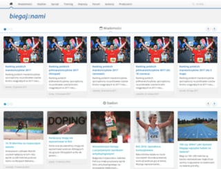 biegajznami.pl screenshot