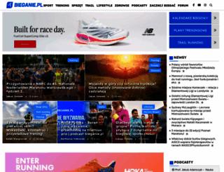 bieganie.pl screenshot