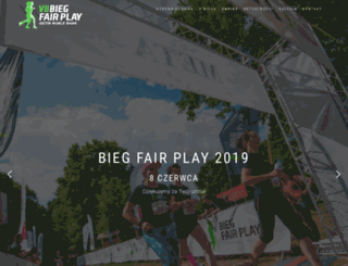 biegfairplay.pl screenshot