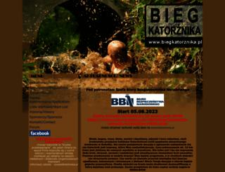 biegkatorznika.pl screenshot