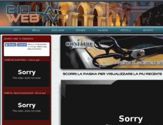 biellawebtv.it screenshot