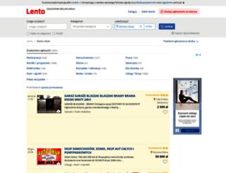 bielsko-biala.lento.pl screenshot