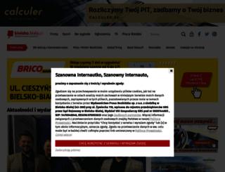 bielsko.biala.pl screenshot