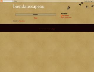 biendanssapeau.blogspot.com screenshot