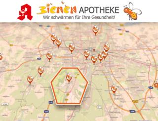bienenapotheke.de screenshot
