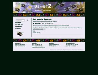 bienenwelt-berretz.de screenshot