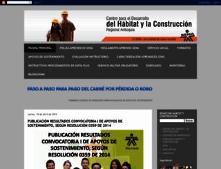 bienestarhabitatyconstruccion.blogspot.com screenshot