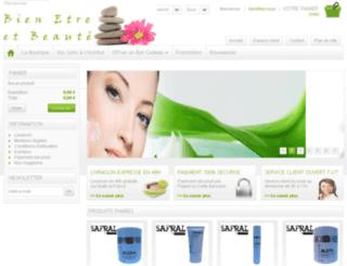 bienetreetbeaute.com screenshot