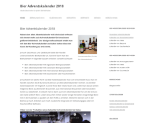 bier-adventskalender.info screenshot