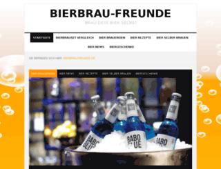 bierbrau-freunde.de screenshot