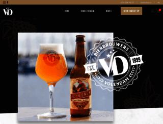bierbrouwerijvolendam.nl screenshot