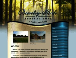biereleyhale.com screenshot
