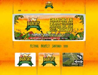 bierfest-santiago.cl screenshot