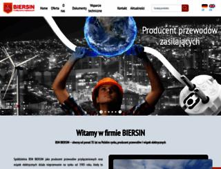 biersin.com.pl screenshot