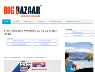 big-bazaar.co.in screenshot