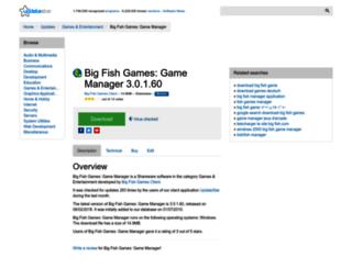 big-fish-games-game-manager.updatestar.com screenshot