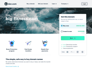 big-fitness.com screenshot