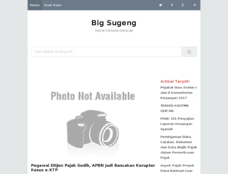 big-sugeng.blogspot.com screenshot