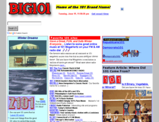 big101.com screenshot