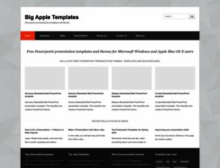 bigappletemplates.com screenshot