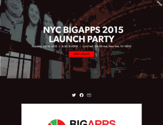 bigapps2015launch.splashthat.com screenshot
