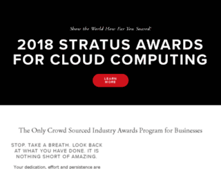bigawards.org screenshot