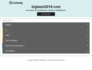 bigbash2016.com screenshot