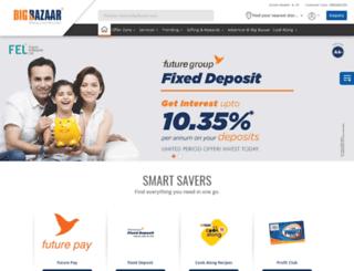 bigbazaar.com screenshot
