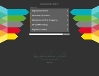 bigbazaardirect.com screenshot