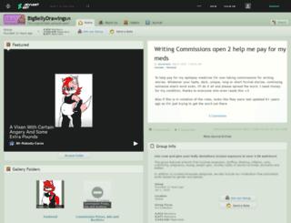 bigbellydrawings.deviantart.com screenshot