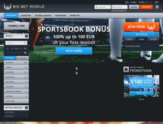 bigbetworld.com screenshot