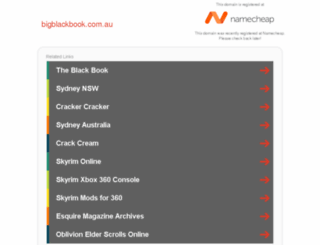 bigblackbook.com.au screenshot