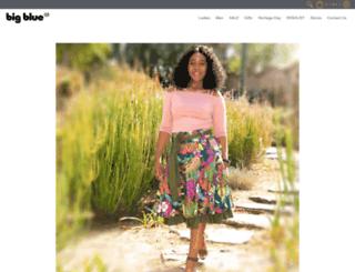 bigblue.co.za screenshot