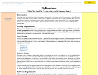 bigboard.com screenshot
