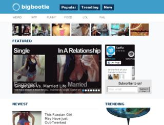 bigbootie.net screenshot