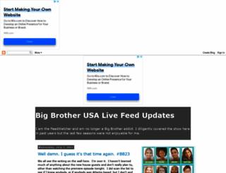 bigbrotherlivefeedupdates.blogspot.com screenshot