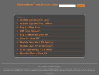 bigbrotherlivestream.com screenshot